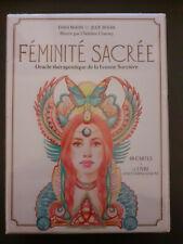 FEMINITE SACRE ORACLE THERAPEUTIQUE TAROT NEUF CARTES ESOTERISME BODIN SORCIERE