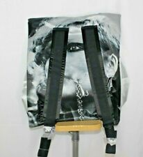 Brand New RAF SIMONS X EASTPAK Silver Poster Backpack Bag