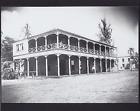 "PIONEER INN, MAUI HAWAII 1915? HAND PRINTED ON 8X10"" MAT SILVER HALIDE PHOTO"