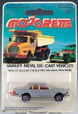 Majorette Die Cast #249 Mercedes 450 Silver Gray MOC Made In France