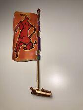 MOTU, Eternia, Flag Pole & Clip, Masters of the Universe, parts, pieces, base