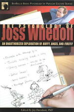 The Psychology of Joss Whedon, Firefly Buffy Trade Book New Unread