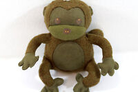 Starbucks Coffee Plush Brown Summer Monkey Stuffed Animal Toy 10 Inches Collect