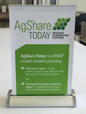 A3 Table top roller banner stands
