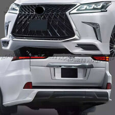 Upgrade TRD Super Sport Look Bodykit Fits for Lexus LX570 2016-20 WHITE PAINTED