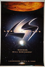 """Lost In Space (1998) original teaser one sheet movie poster (27""""x40"""") S/S"""
