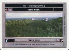 Star Wars CCG Premiere White Border Yavin 4 : Jungle [Light]