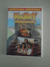 Harry and the Hendersons DVD 2007 Special Edition Comedy New in Plastic Sealed
