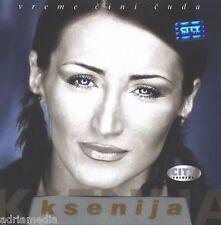 Ksenija CD Vreme Cini CUDA Best Hit Music Serbia Srbija Mijatovic melanholija