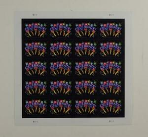US SCOTT 5019 PANE OF 20 CELEBRATE STAMPS FOREVER MNH