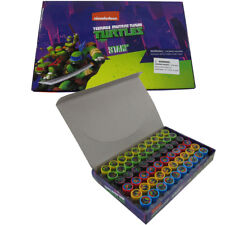 New 60pc Tmnt Self Inking Stamp Set Kid School Supplies Party Favors