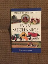Farm Mechanics Merit Badge Book 2011 BSA Boy Scout *Agricultural Machinery Book*