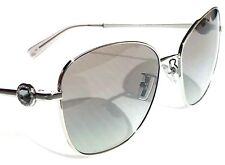 NEW* COACH GIA Butterfly Jeweled SILVER Grey Lens Womens Sunglass L1070 HC7090