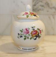Vintage ASHLEYDALE of England Fine Bone China~SMALL Ginger Jar~Floral