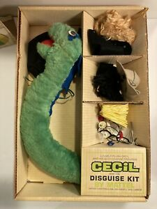 Vintage RARE CECIL the Serpent and His Disguise Kit Mattel w/box