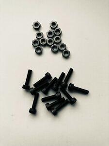 Nukeproof Pedal Pin Kit Horizon Comp & Neutron /Electron EVO + others m3 x 12mm