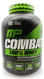 MusclePharm Combat 100 Whey Vanilla 5 lbs 2269 g Banned Substances Tested,