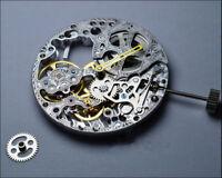 Fit For st3620k 6498 Movement Skeleton Hollow Manual Winding Repair