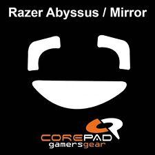 COREPAD Skatez Razer Abyssus MIRROR RICAMBIO PTFE Teflon ® piedini del mouse hyperglides
