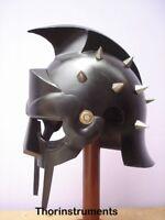 New Super Gladiator Maximus Medieval Viking Armor Helmet