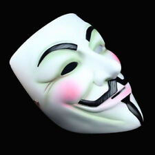NEW ADULTS ANONYMOUS V FACE SCARY MASK VENDETTA GUY FANCY DRESS HALLOWEEN LOT