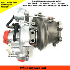K04 Twin Scroll TURBO CHARGER 2.0L ECOTEC NEW GM OEM 12658317  12643932