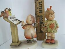 Hummel Figurines # 169 Bird Duet,  # 479 I brought you a Gift