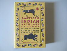 AMERICAN INDIAN MYTHS AND LEGENDS-ERDOES-RARE HARDCOVER BOOK-1984-FIRST EDITION