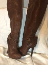 a16ef558120 Report Brown Over-the-Knee Boots for Women for sale