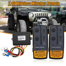 2.4G 12V  Wireless Winch Remote Control Twin Handset Easy To Install 100ft AU