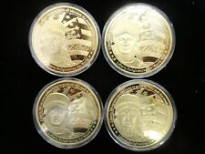 American Mint Liberty -Shining the Light of Freedom -4 Oversize- Coin Collection
