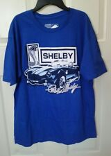New w/Tag Cobra Classic SHELBY Distressed Logo Tee Shirt Size L But tagged as XL