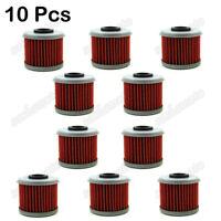 10x Oil Filters For Honda TRX450R TRX450ER CRF250X CRF250R CRF450R CRF 450X 150R