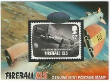 Fireball XL5 Gerry Anderson Great British Postage Stamp Card PS1