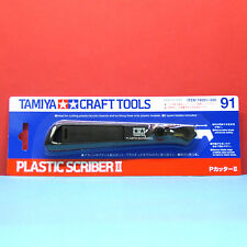 Tamiya #74091 Plastic Scriber II with 2 blades [Craft Tools]