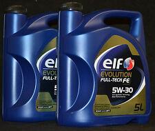 2x5 Liter Elf EVOLUTION FULL-TECH FE (  DPF )  5W-30 Motoröl RN0720 Renault