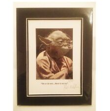 """Yoda ~ Limited Edition """"Do or do not....there is no try"""" By Patrick J. Killian"""