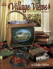 VILLAGE VIEWS Book IV Gladys Neilsen Viking Folk Art Publications Painting BOOK