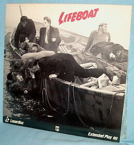 LD laserdisc Alfred Hitchcock's LIFEBOAT Tallulah Bankhead/John Hodiak/W Slezak