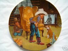 """"""" Cowboy Capers  """" Collector plate"""