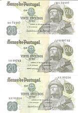 21218) PORTOGALLO POTUGAL 20 ESCUDOS DEL 1971