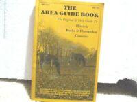 Vintage 1987-1988 THE AREA GUIDE BOOK - Historic Bucks & Huntrdon Counties