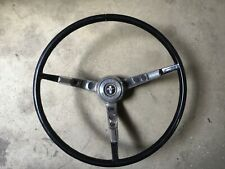 1965-66 Ford Mustang Steering Wheel w/Horn push & Spring