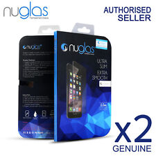 2x GENUINE NUGLAS Tempered Glass Screen Protector for Apple iPhone SE /5S/ 5C/5