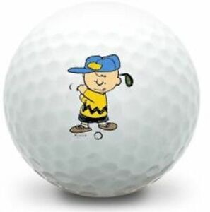 36 (Charlie Brown Golfing Logo) Taylor Made Assorted  Mint/AAAAA Golf Balls