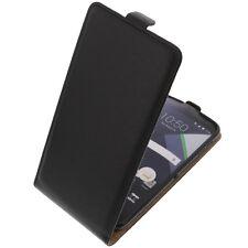 Tasche für Blackberry DTEK60 FlipStyle Handytasche Schutzhülle Flip Case Schwarz