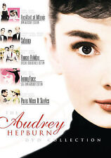 NEW ~ Audrey Hepburn Collection (DVD, 2007) 5 movie set ~ Sabrina, Breakfast + 3