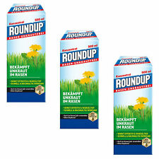 Savings Set: 3 X Roundup Rasen-Unkrautfrei, 500 ML