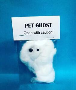 Pet Ghost Open With Caution Joke Novelty Gift Secret Santa Stocking Filler