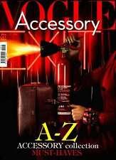 Vogue magazine Accessory No 13 Italy Italia September 2014 The Man Issue NEW